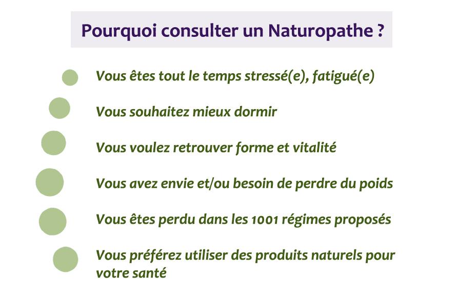 Pourquoi consulter un naturopathe